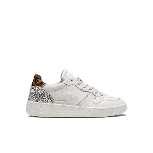 COURT POP WHITE-LEOPARD